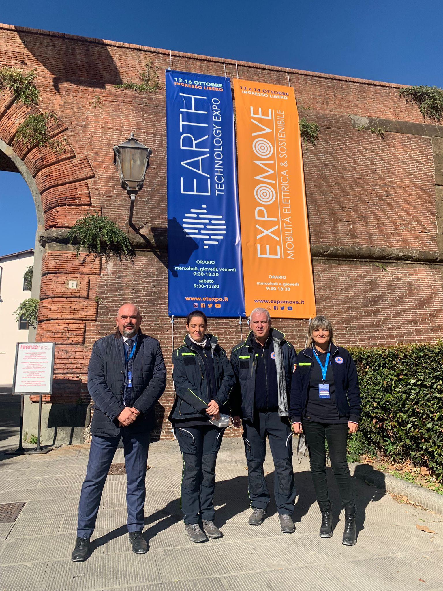 La Protezione Civile dell'Empolese Valdelsa presenta i suoi progetti a Earth Tecnology Expo